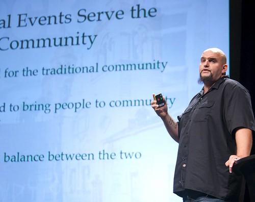 John Fetterman (by: Kris Krug, Pop!Tech, creative commons license)