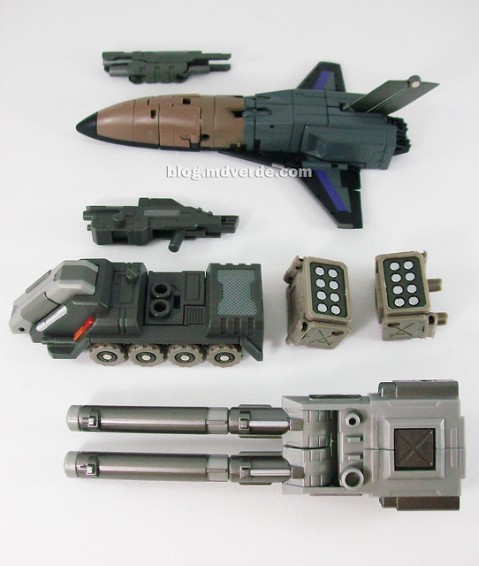 Transformers Explorer (FansProject Crossfire) - modo alterno