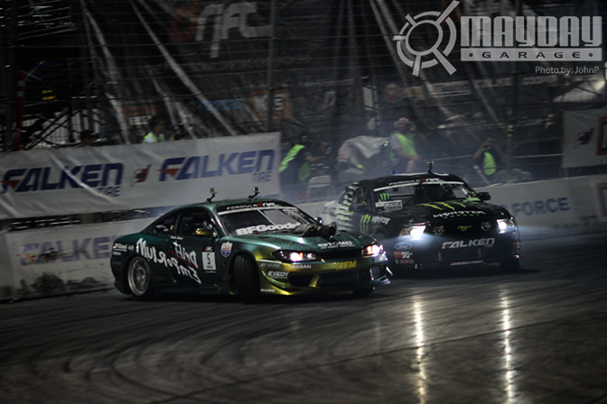 The Drift Emporium Chameleon S15 is no slouch, even against J.R.
