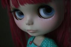 For stuffbykate! (frankie.DARLING) Tags: doll frankie blythe custom hybrid commission darling ih ichigoheaven