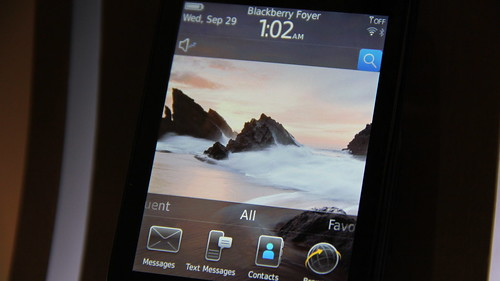 #Maxis10 BlackBerry Torch