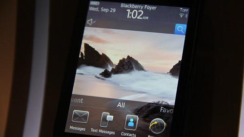 #Maxis10 BlackBerry Torch