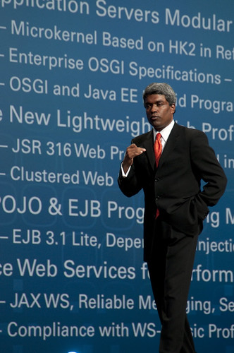 Thomas Kurian, JavaOne Keynote, JavaOne + Develop 2010, Moscone North