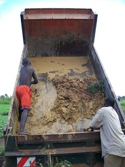 Offloading clay
