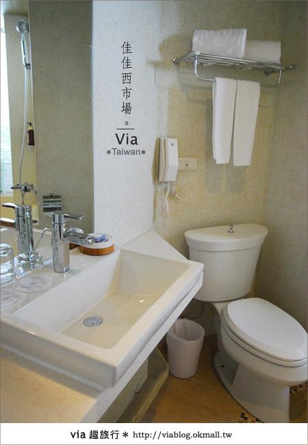 【台南住宿】佳佳西市場旅店~充滿特色的風格旅店!33