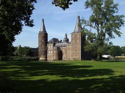 view of Hoensbroek Castle in the Netherlands