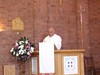 Fr Bottoms reading the 1st reading at A.C.S.Festival Mass