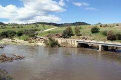 Gudgenby River Bridge 17/10/2010 (John Lafferty Photography) Tags: geotagged book flooding flood australia aus blurb australiancapitalterritory tharwa gudgenbyriver geo:lat=3552657707 geo:lon=14907269776 blurbbookwwwblurbcombookstoredetail2283708