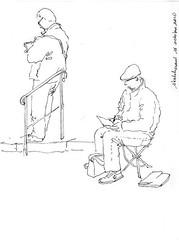 sketchcrawl 16 octobre 2010 Lyon Part-Dieu (hervé HUGUES) Tags: france sketch lyon sketchcrawl croquis partdieu