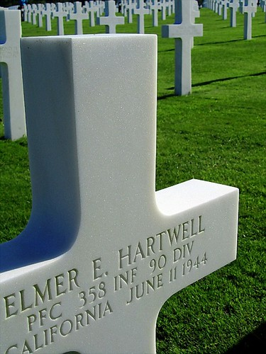 The American Cemetery in Normandy