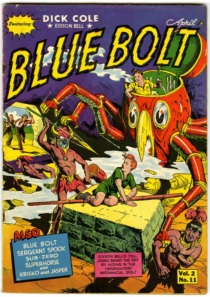 Blue Bolt V2#11 (Novelty Press, 1942)