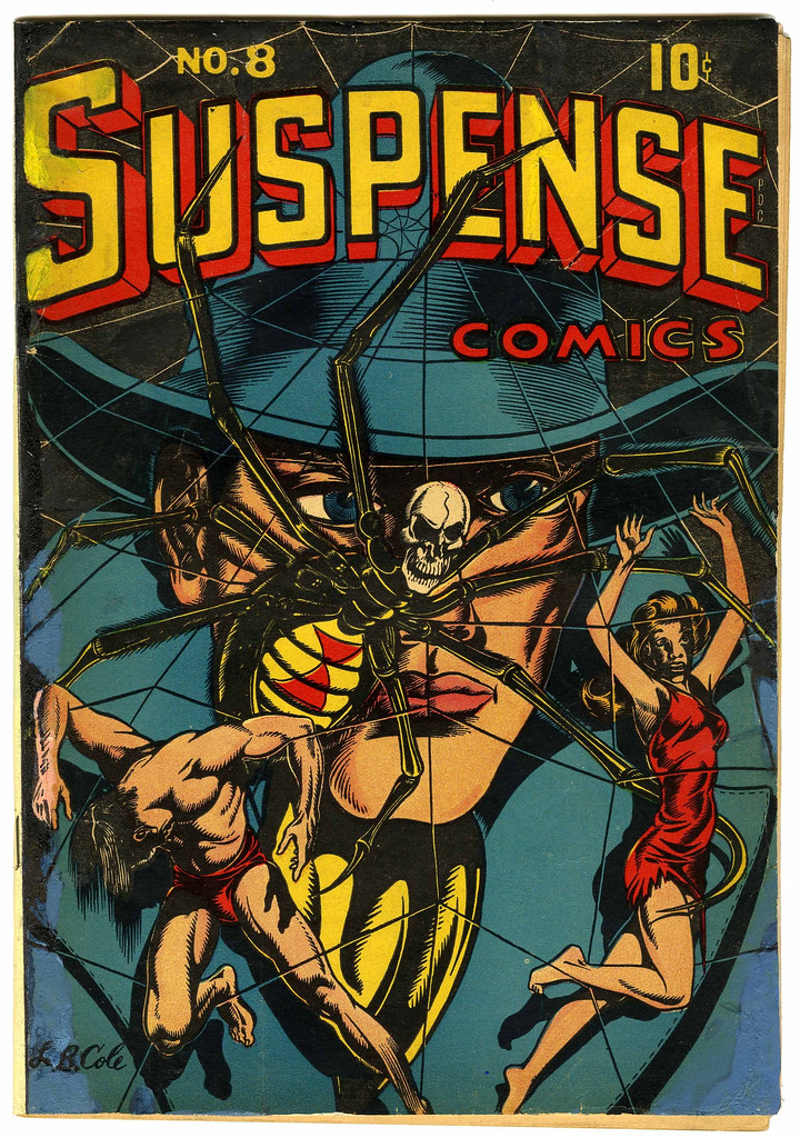 Suspense Comics #8 (Continental Magazines, 1945)