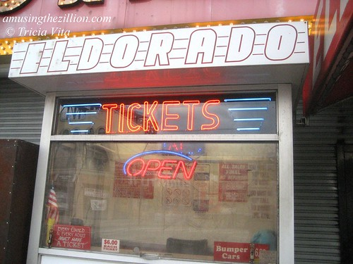 Eldorado Ticket Booth. October 15, 2010. Photo © Tricia Vita/me-myself-i via flickr