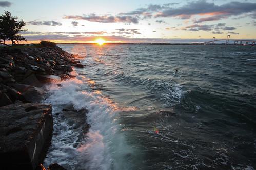 Goat Island Sunset