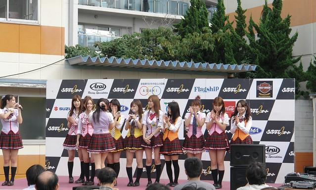 """Funabashi auto festival : """"K N U 23 on stage"""""""