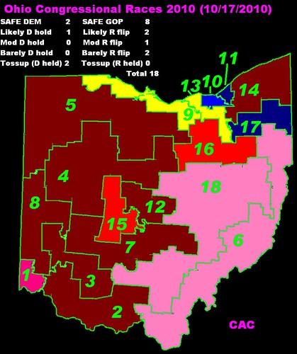 Ohio Congressional Races 2010