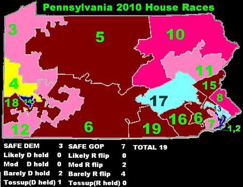 Pennsylvania Congressional Races 2010