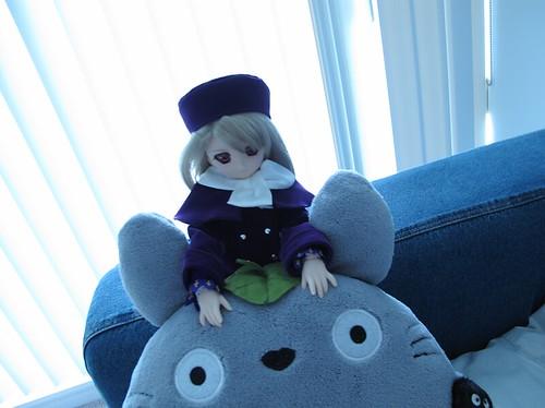 Illya and Totoro