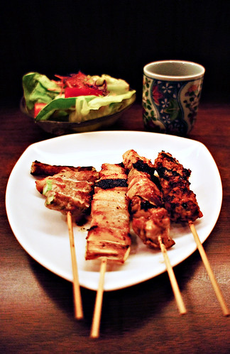 Yakitori at Kushigin restaurant, Singapore