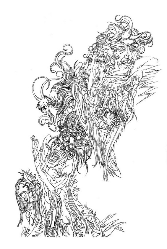 Austin Osman Spare, drawing 8