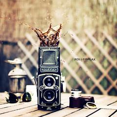 Rolleisplax (Dr Cullen) Tags: ikea coffee rollei rolleiflex photoshop nikon bokeh splash rayban 35mmf18 drcullen flickrgolfclub bokehhearts d300s nikond300s