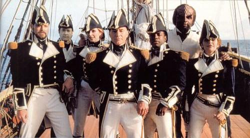 TNG Cast Sailing