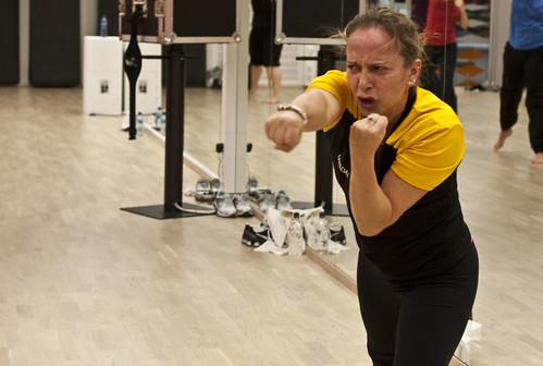 Grethe er en inspirerende og energisk instruktør