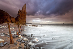 Seaham Sticks, Stones and Stack (Azzmataz) Tags: county sea storm durham stack seaham liddle anthonyhallphotography