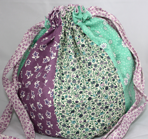 String Bag Crochet Pattern : Bag Cotton Crochet Drawstring Pattern Crochet Guild