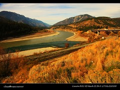 Great big joint of Tompson and Fraser River at Lytton, British Columbia (Chun@Vancouver) Tags: canada britishcolumbia fraserriver lytton fraserrivercanyon tompsonriver