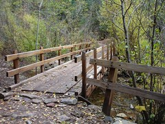 bridge over Junction Creek