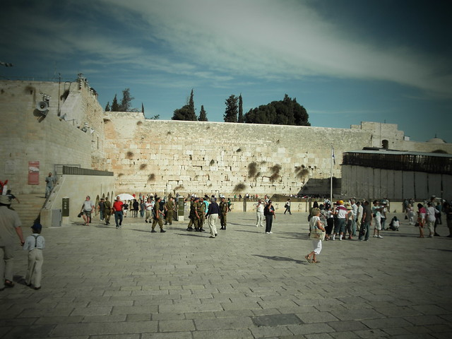 Western Wall, Pinhole Camera Setting