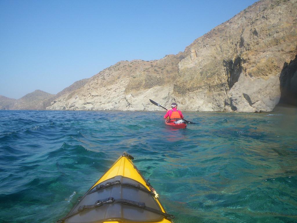 Cabo de Gata en kayak 370
