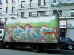 Sin XTC (Rebel to the Grain) Tags: new york city nyc truck graffiti box sin piece xtc byi
