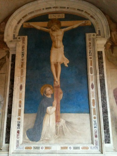 Fra Angelico crucifixion from monks' cells, San Marco