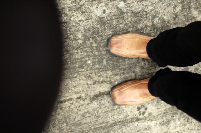 missing feet