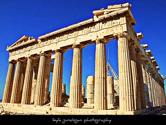 acropolis (leyla gundogan) Tags: trip travel me myself greek nikon august athens parthenon greece acropolis mythology greekmythology leyla 2010 ancientgreece boncuk akropolis yunanistan atina mitoloji   austos