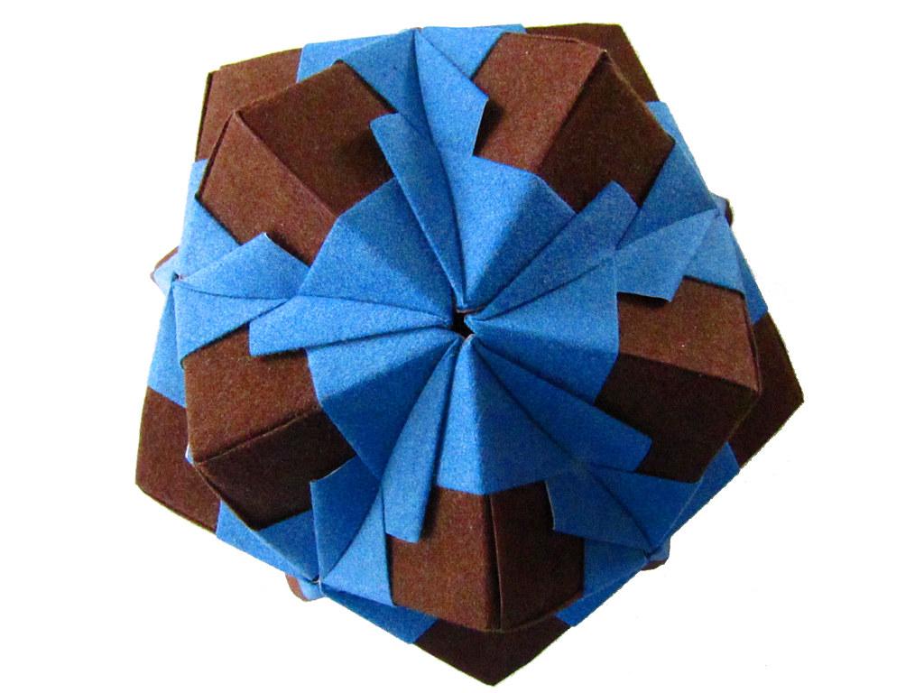 The World's Best Photos of icosahedron and kusudama ... - photo#22