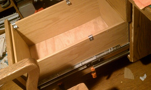 Fixed drawer