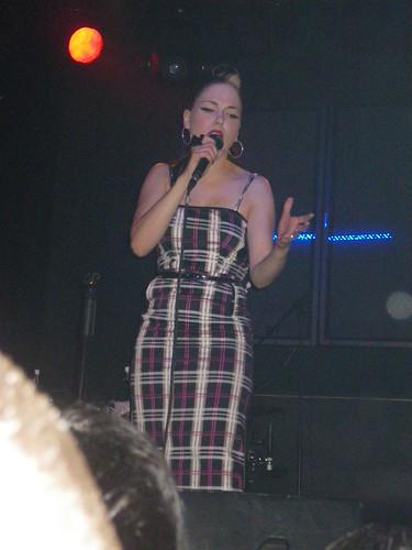 Imelda May, 12 de noviembre de 2010, sala Mirror, Valencia
