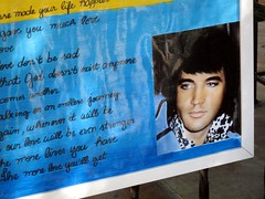Really Weird Elvis Poster From South America