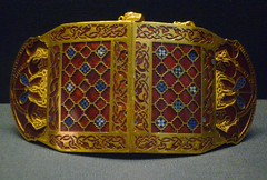 Sutton Hoo Ship Burial, Bracelet (closed)