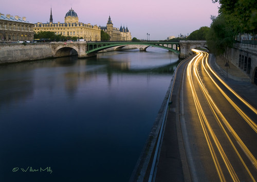 Early Morning along the Seine