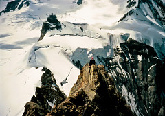 Mnch (astrange) Tags: switzerland climbing jungfraujoch jungfrau mnch oberland alpinism kletteren