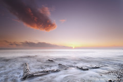 Fireball (Azzmataz) Tags: sea sky sun clouds sunrise explore easington explored anthonyhallphotography