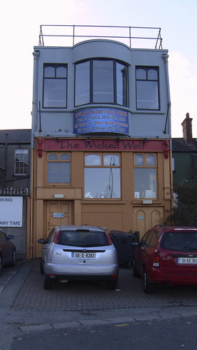 The Back Entrance To The Wicked Wolf - Blackrock