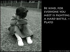 Plato Kind quote Flickr