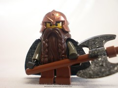Lord of the Rings Custom Lego Gimli the Dwarf