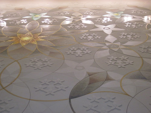 Details at Sheikh Zayed Mosque