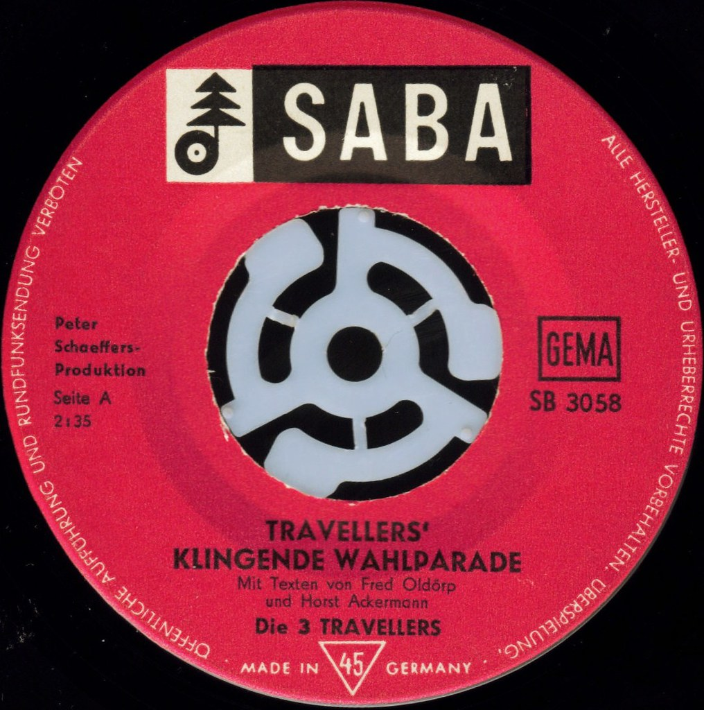 Die Traveller's Klengende Wahlparade label A